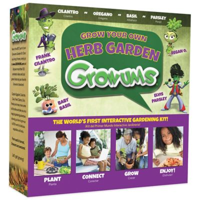 Growums Grow Your Own Herb Garden Kit