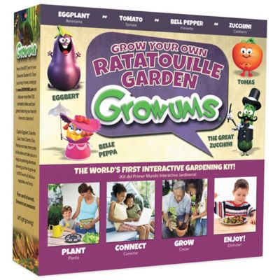 Growums Grow Your Own Ratatouille Garden Kit