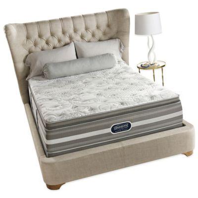Beautyrest® World Class® Heritage Pines Plush Pillow Top King Mattress Set