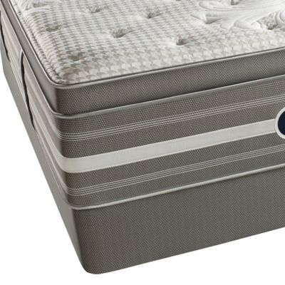 Beautyrest® World Class® Evans Oaks Plush Pillow Top Twin Mattress Set
