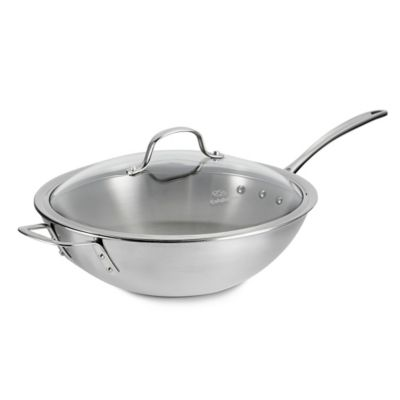 Steel Calphalon Stir Fry
