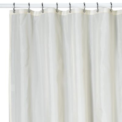 KAS Ultimate Ivory Nylon Shower Curtain Liner