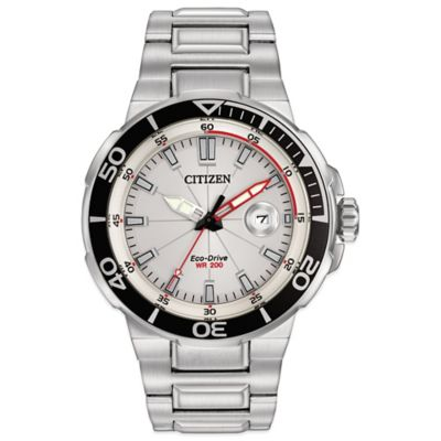 Citizen Eco-Drive Endeavor Men's 45mm Watch in Stainless Steel