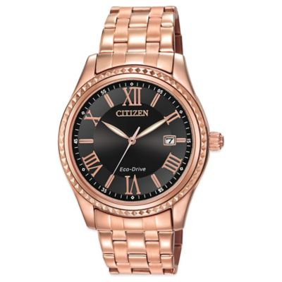 Citizen Drive from Eco-Drive Ladies' 40mm AML Watch in Rose Goldtone Stainless Steel
