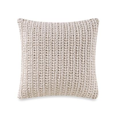 Studio 3B™ by Kyle Schuneman Harris Square Throw Pillow in Ivory