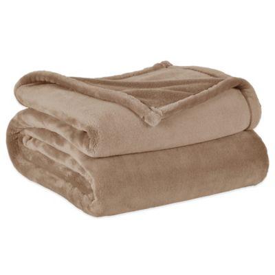 Berkshire VelvetLoft™ Cape Codder Heavyweight Full/Queen Blanket in Linen