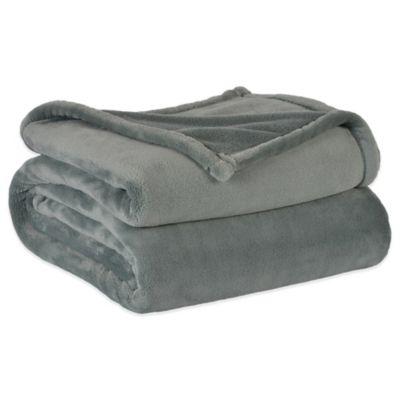 Berkshire VelvetLoft™ Cape Codder Heavyweight Twin Blanket in Aqua