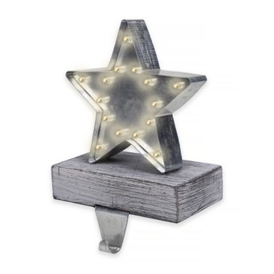 Marquee Pre-Lit Star Stocking Hanger