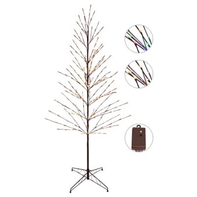 5-Foot LED Color Combo Cascading Tree
