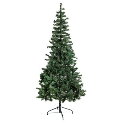 6-Foot 6-Inch Pre-Lit Holiday Tree with White Lights