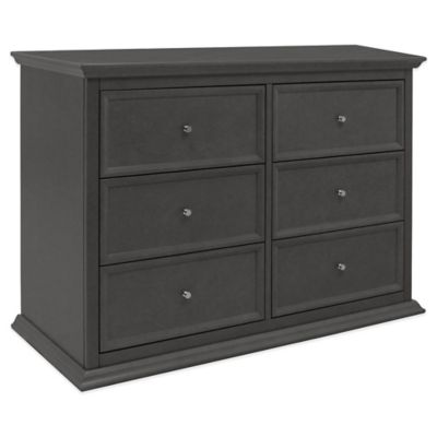 Million Dollar Baby Classic Foothill/Louis 6-Drawer Double Dresser in Manor Grey