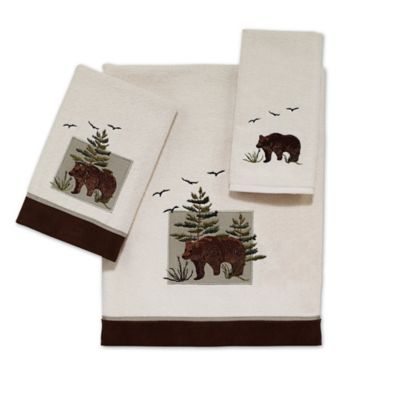 Avanti Bear Patch Washcloth