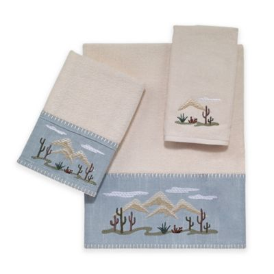 Avanti Cactus Landscape Hand Towel