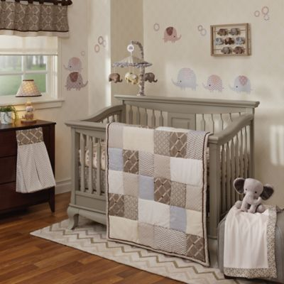 Lambs & Ivy® Oatmeal Cookie 4-Piece Crib Bedding Set
