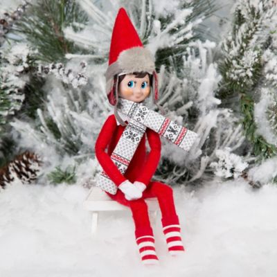 The Elf on the Shelf® Claus Couture Collection® Polar Pattern Elf Set