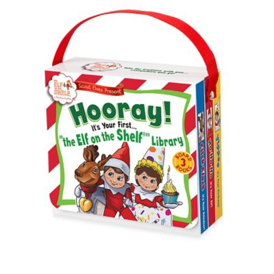 "The Elf on the Shelf® Scout Elves Present: ""Your First The Elf on the Shelf Library"" Gift Set"