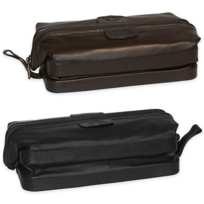 Genuine Leather Toiletry Kit