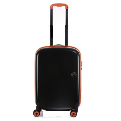 Lojel Nimbus 19-1/2 Inch Waterproof Upright Spinner in Black/Orange