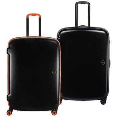 Lojel Nimbus 27-Inch Waterproof Upright Spinner in Grey/Orange