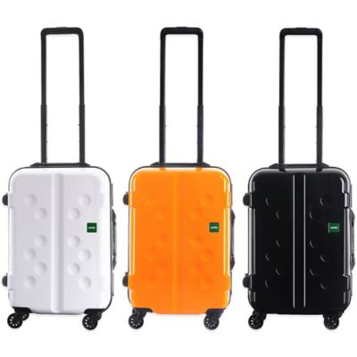 Lojel Carapace 19-1/2 Inch Upright Spinner Luggage in Tangerine