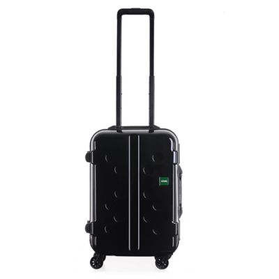 Lojel Carapace 19-1/2 Inch Upright Spinner Luggage in Black