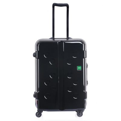 Lojel Carapace 24-Inch Upright Spinner Luggage in Black