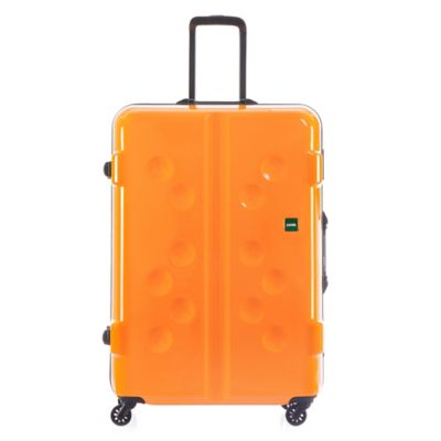 Lojel Carapace 27-Inch Upright Spinner Luggage in Tangerine