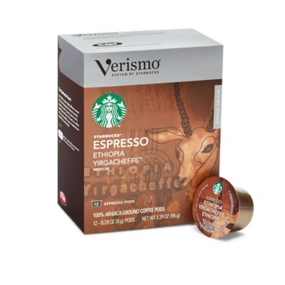 Starbucks® Verismo™ 12-Count Ethiopia Yirgacheffe™ Single Origin Espresso Pods