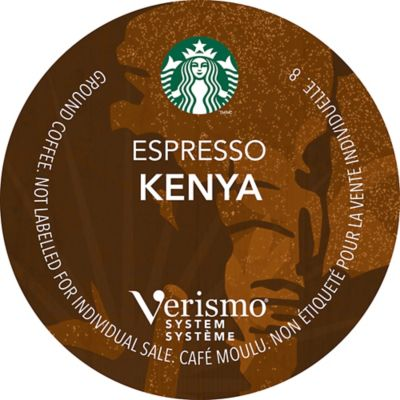 Starbucks® Verismo™ 12-Count Kenya Single Origin Espresso Pods