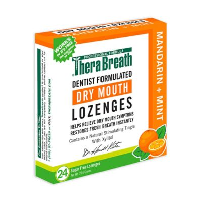 TheraBreath 24-Count Mouth Wetting Fresh Breath Lozenges