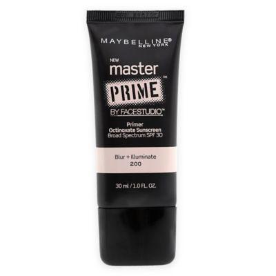 Maybelline® Face Studio Master Prime™ Makeup
