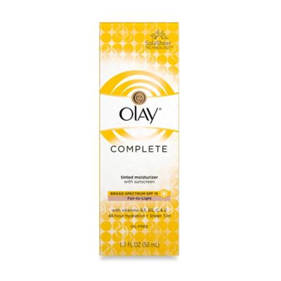 Olay® Complete 1.7 oz.Tinted Moisturizer with SPF 15 in Fair to Light