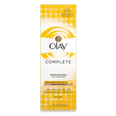 Olay® Complete 1.7 oz. Tinted Moisturizer Light To Medium with Sunscreen SPF 15