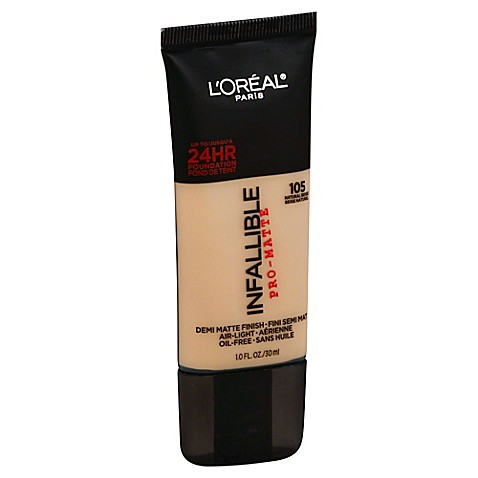 L'Oréal® Paris Infallible Pro-Matte Foundation in Natural Beige