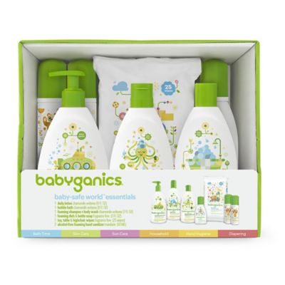Babyganics® Baby-Safe World Essentials Gift Set