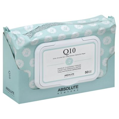 Absolute New York Q10 50-Count Makeup Cleansing Tissues