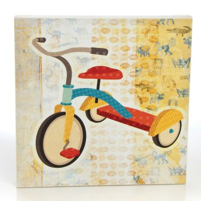 Glenna Jean Echo Tricycle Canvas Wall Art