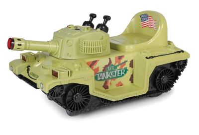 GiGGo Toys Li'l Tankster Battery Powered Ride-On Tank in Green