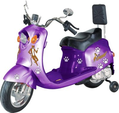 GiGGo Toys Li'l Skootah Battery Powered Ride-On Scooter in Purple