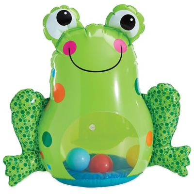 Earlyears Inflatable Froggy Roly Poly Toy