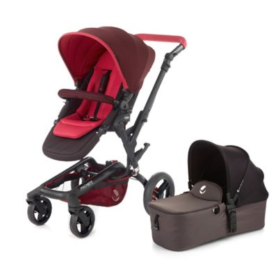 Jane Rider Anodized Aluminum Stroller in Flame