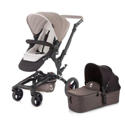 Cream Aluminum Stroller