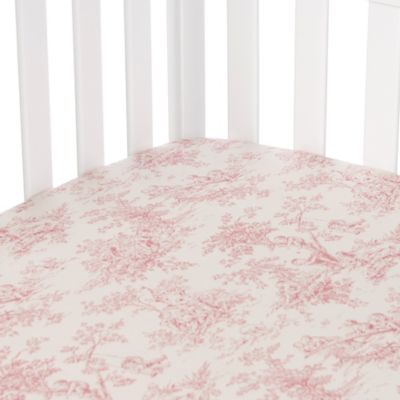 Glenna Jean Isabella Toile Fitted Crib Sheet