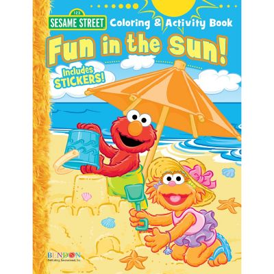 Sesame Street® Fun in the Sun Activity Book