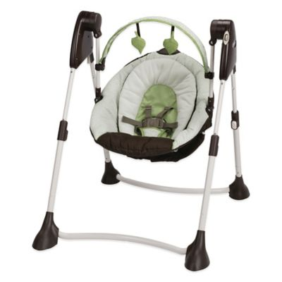 Graco® Swing By Me™ 2-in-1 Portable Swing in Go Green™