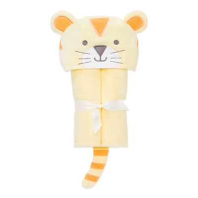 Elegant Baby® Tiger Bath Wrap in Yellow/Orange