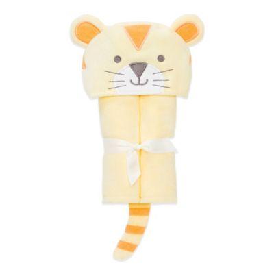 Elegant Baby® Tiger Bath Wrap in Yellow/Orange
