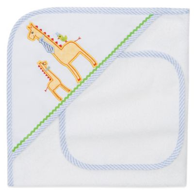 Yellow Towel and Washcloth Set