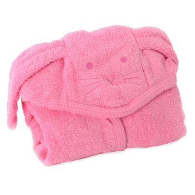 Minene Cat Hooded Towel in Pink