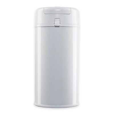 Diaper Pail in White